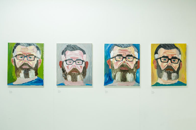 Jamie King ,  Self Portraits . (Image Courtesy the artist/CAPS Independent Advocacy).