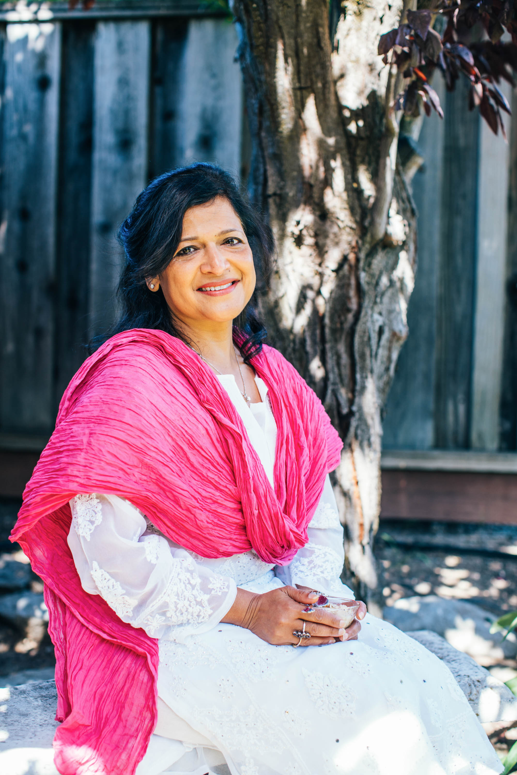 Sarika Agrawal - Sarika Agrawal is a designer, creative, and mother to two wonderful children. She's an active member in her local community in Cupertino and regularly teaches Hindi classes to young students. She's thrilled to bring this cookbook to you filled with old and new recipes.