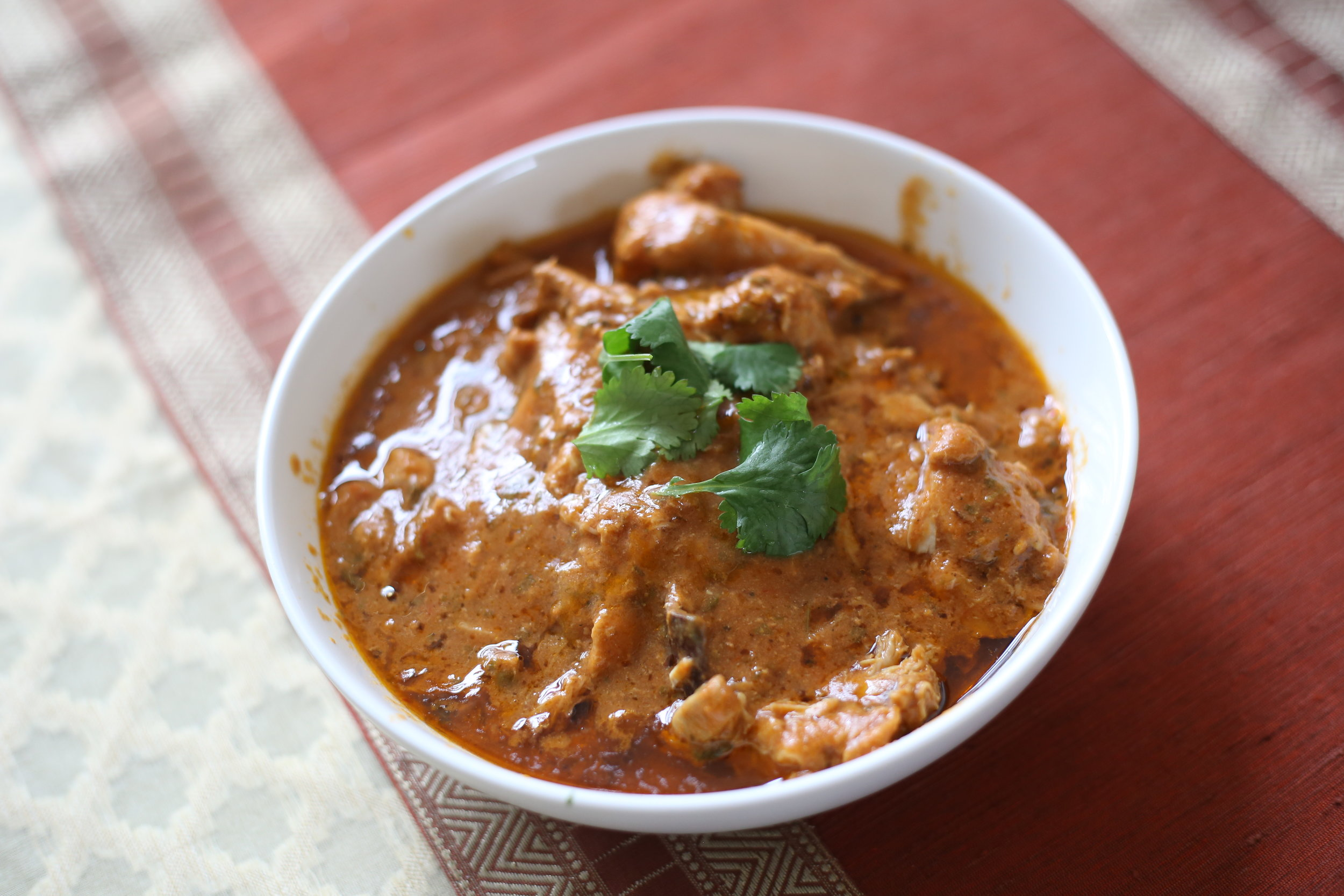 """Slow Cooker """"Butter"""" Chicken (Dairy-Free)"""