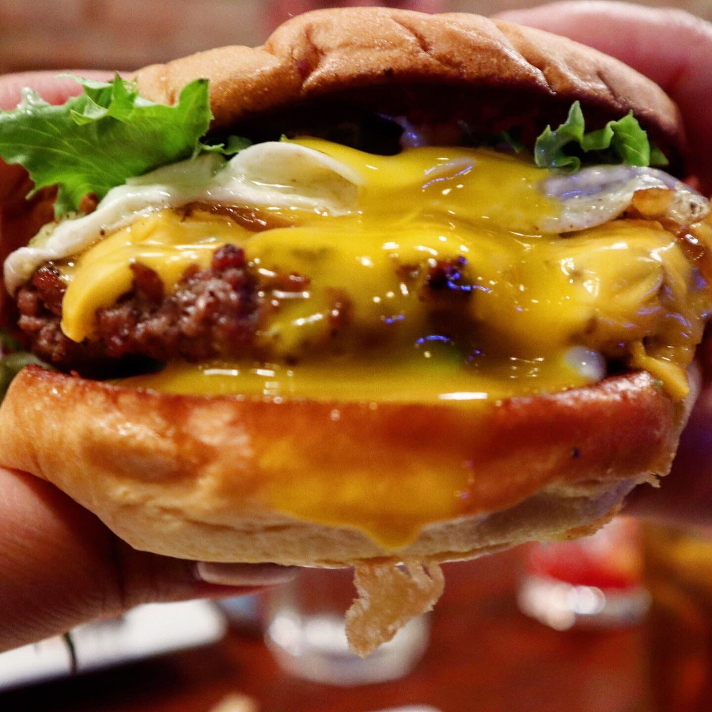 cali burger with egg