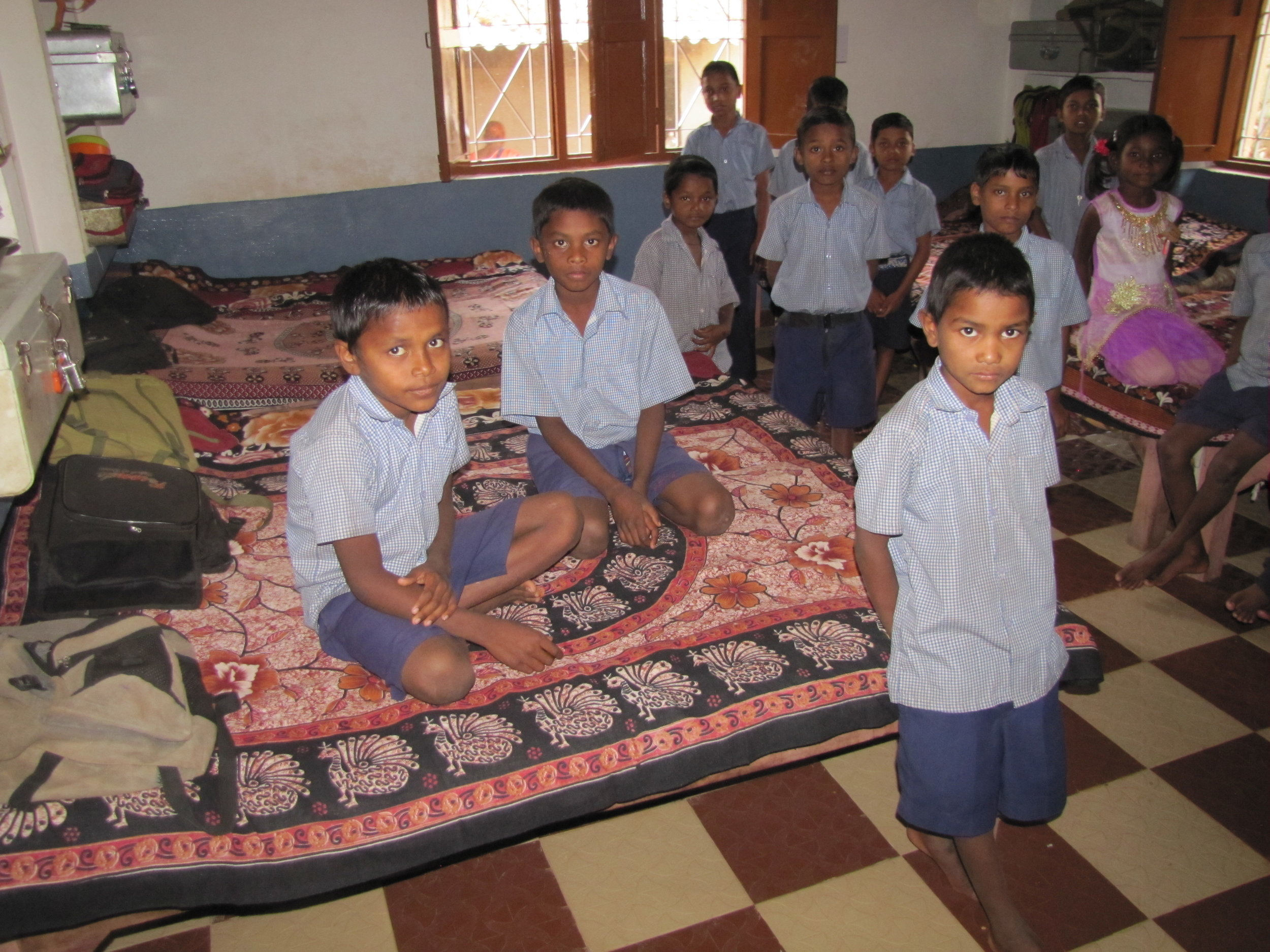 India Mission Orphanage Students