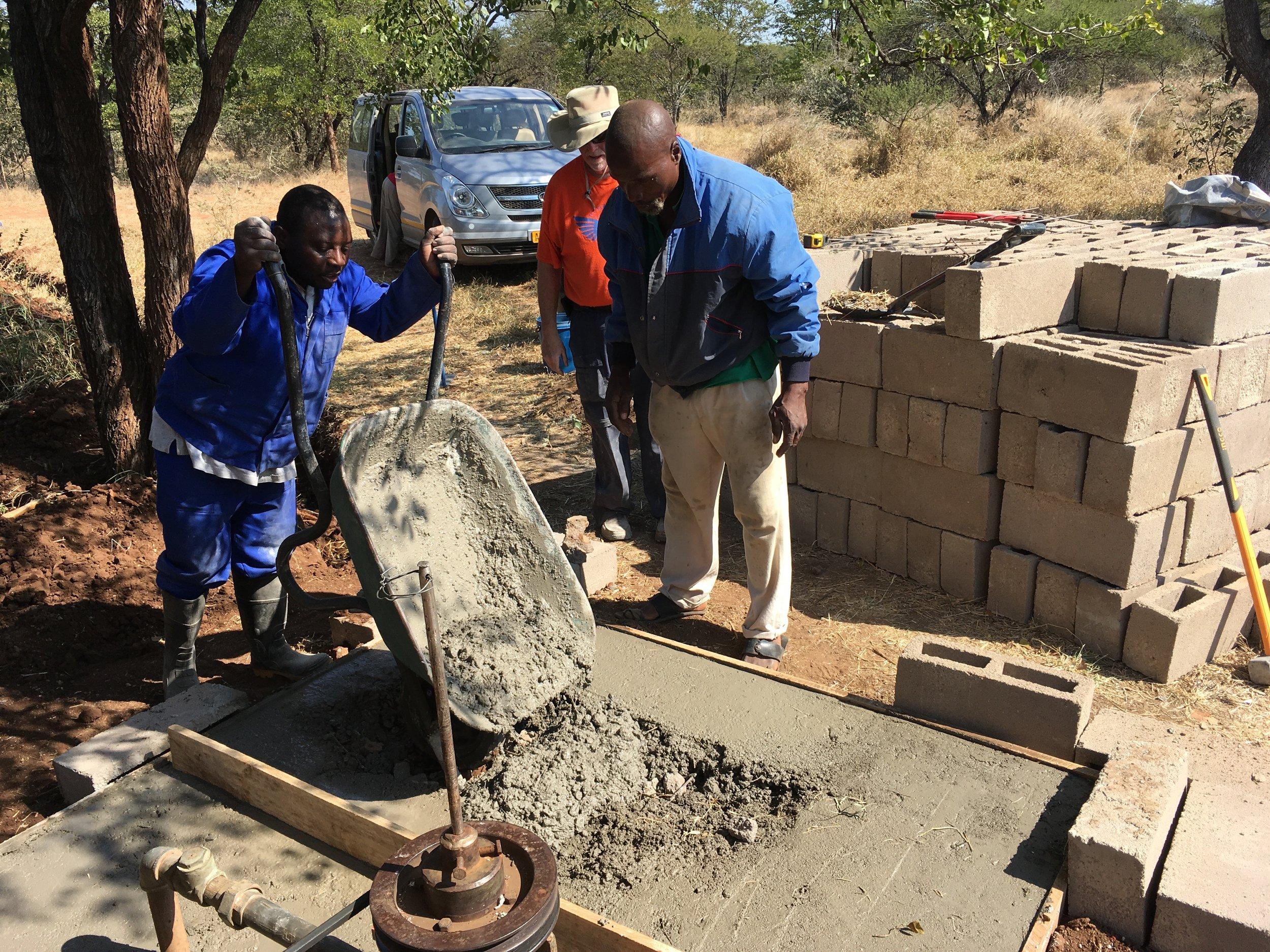 Zimbabwe Borehole Renovation