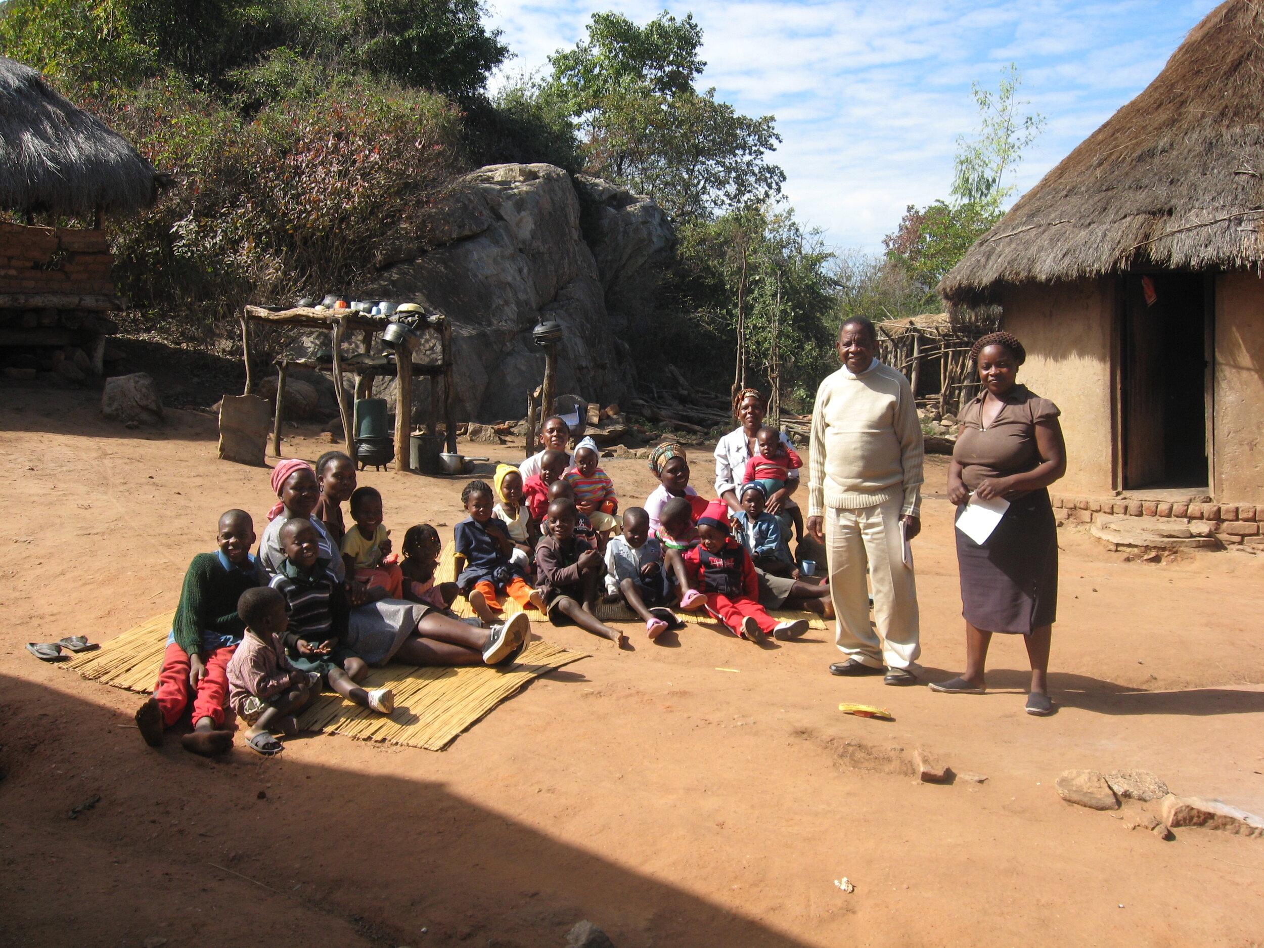 Taking care of Children at Odzi