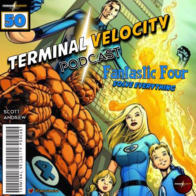 #HickmanFever has struck @ComicsTerminal so the boys tackle #FantasticFour #SolveEverything, discuss #PowersofX #2 & chat about their #PickoftheWeek ow.ly/G0tG30pnOmd Listen each & every week on your poscatcher of choice! #marvelcomics #dccomics #terminalvelocitypodcast