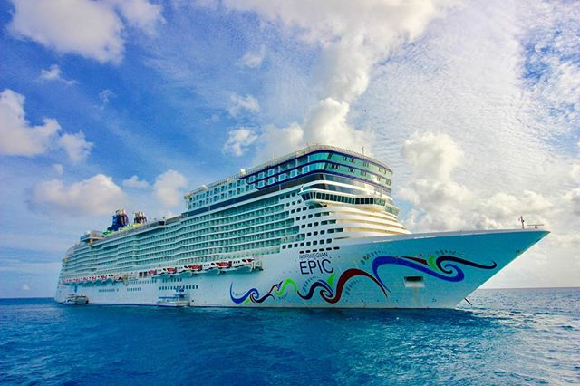 Dear Norwegian Epic, I miss you. I need you and your fun back in my life, ASAP. Yours truly, PJ