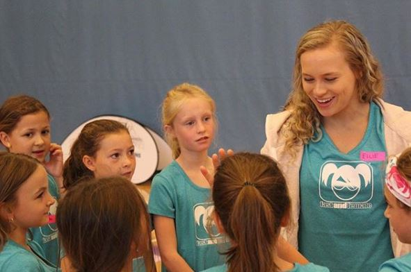 Fast and Female - Ellie is an ambassador for Fast and Female, a non-profit organization dedicated to empowering girls (ages 8-18) through sport in Canada, USA & Australia.