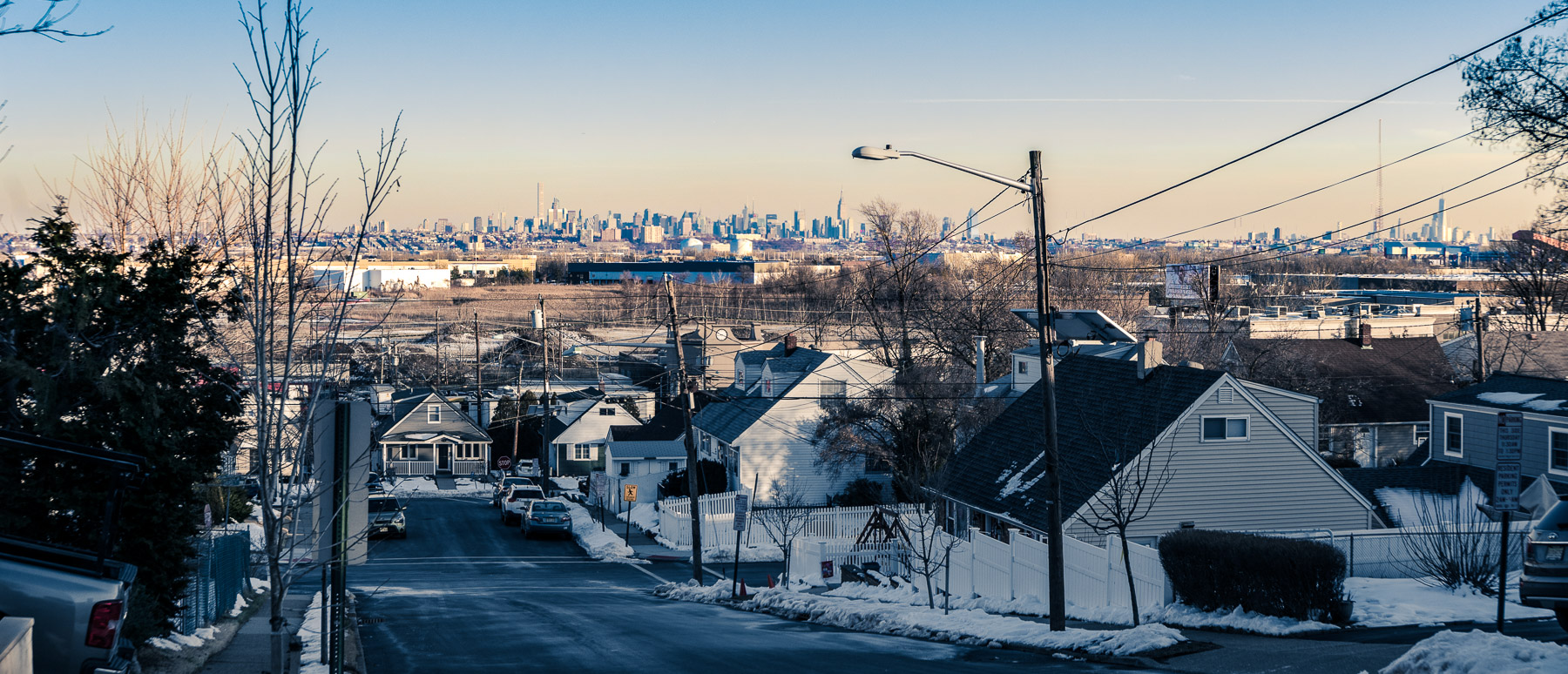 Jersey Streets, NY Horizon \ \ Day 2 \ \ 2/14/17