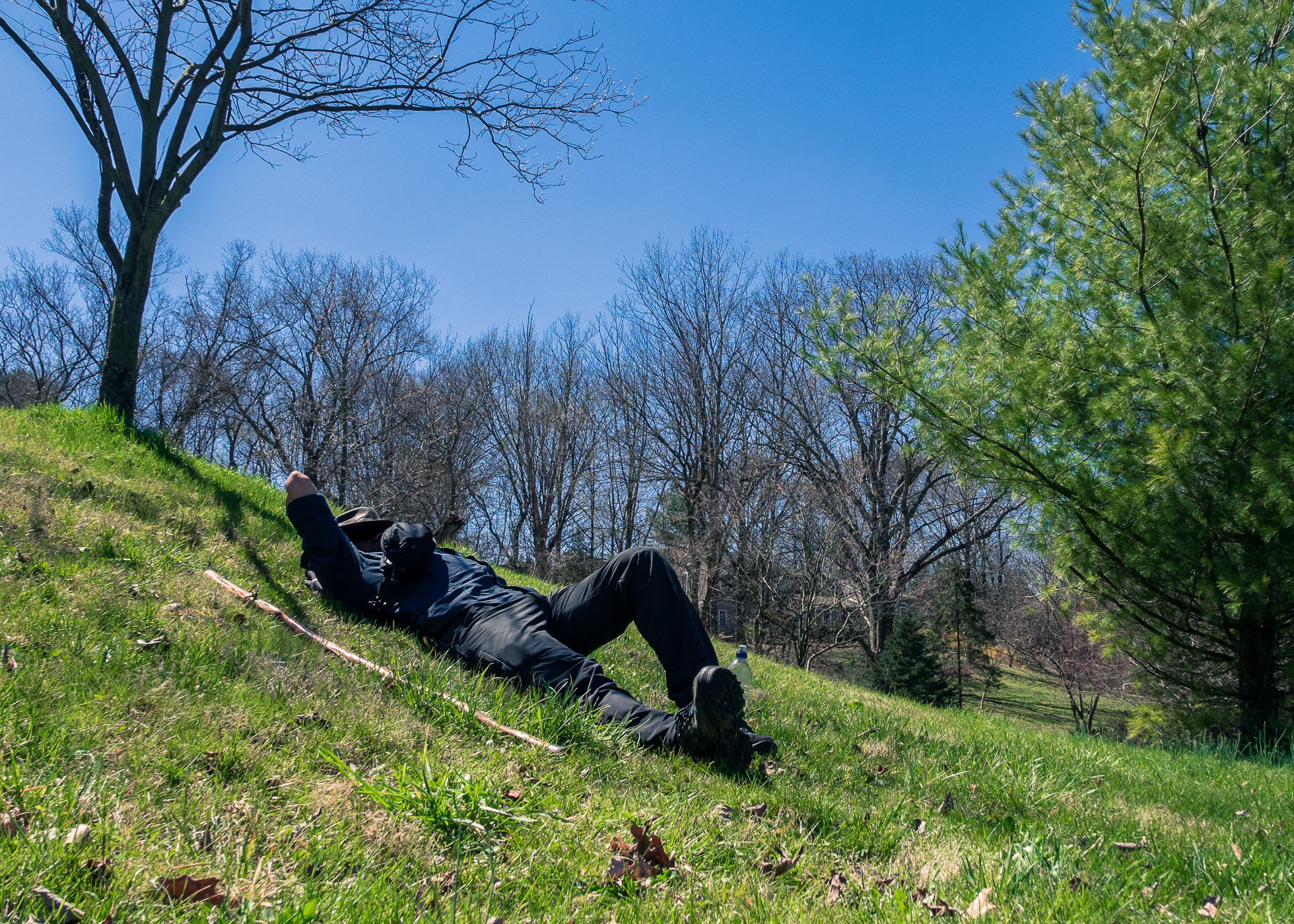 Respite on a Hill \ \ 4/5/17