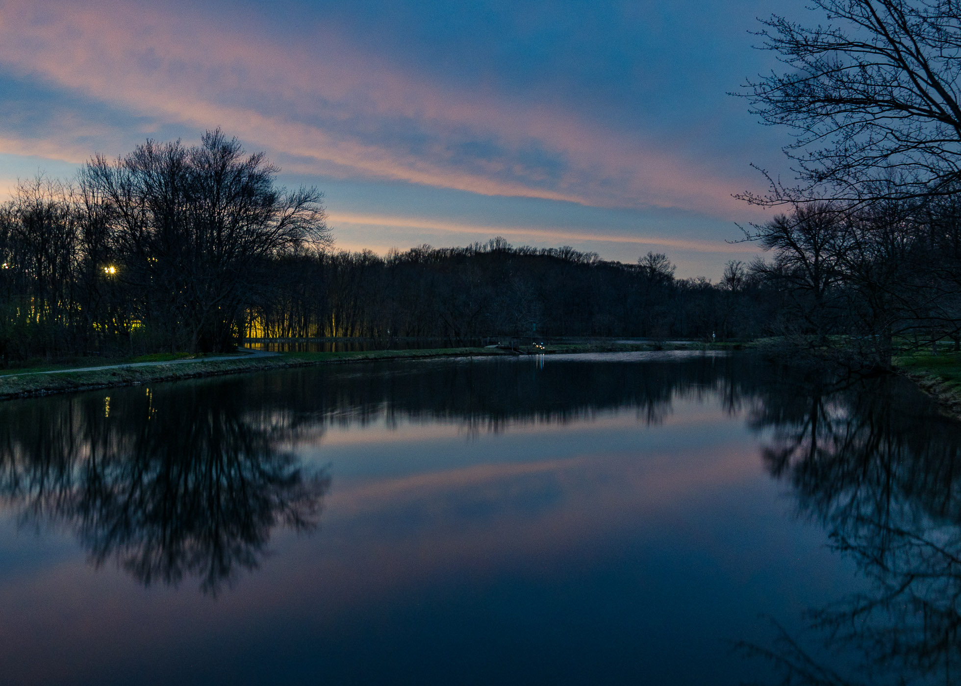 Daylight Fades Over Kennett Square \ \ 4/5/17