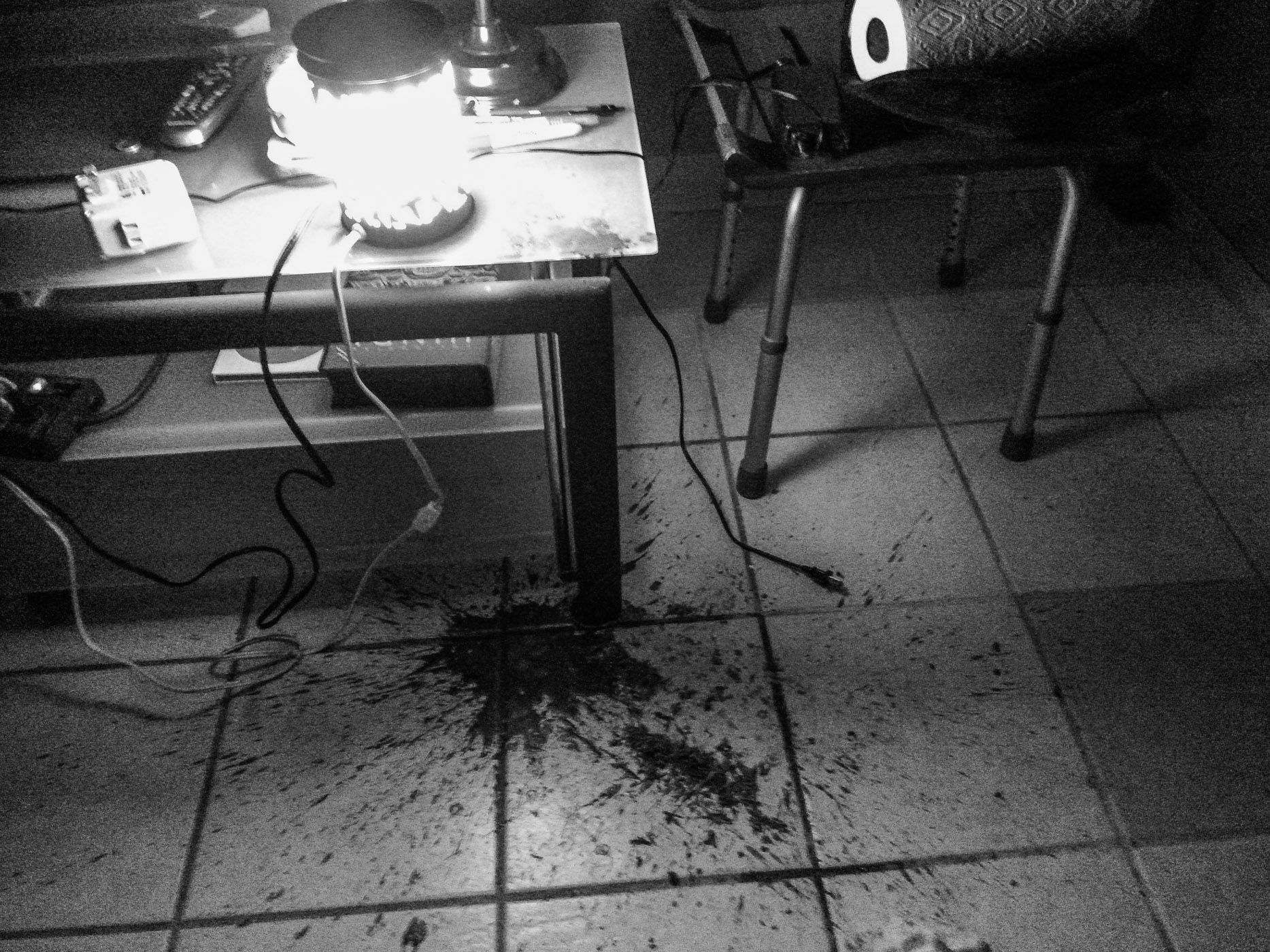 The Candle Incident . . . \ \ Hell \ \ Day 4