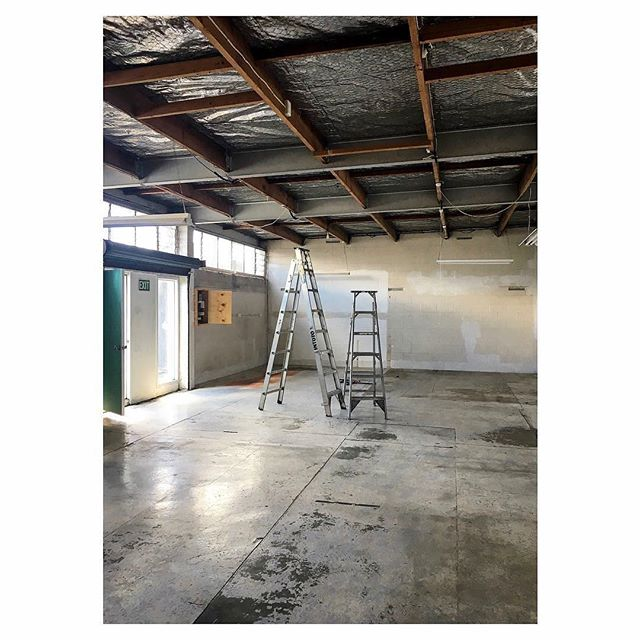 Throwback Thursday!  She wasn't pretty when we adopted her, but we could see her potential. She was 120sm of space that just needed some tlc, oh how she's changed! ❤️ . . . #warehouseconversion #photographystudio #studio #creativespaces #auckland #kingsland #renovation #spaceforhire #creativesunite #tlc