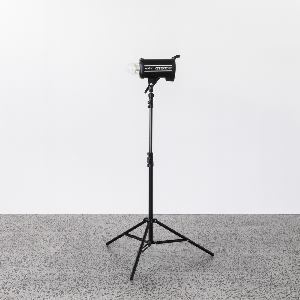 GODOX qt600ii - $50.00 + GST | Includes wireless trigger (Canon), stands and sand bagsPlease specify if you require a trigger for a different brand of camera.