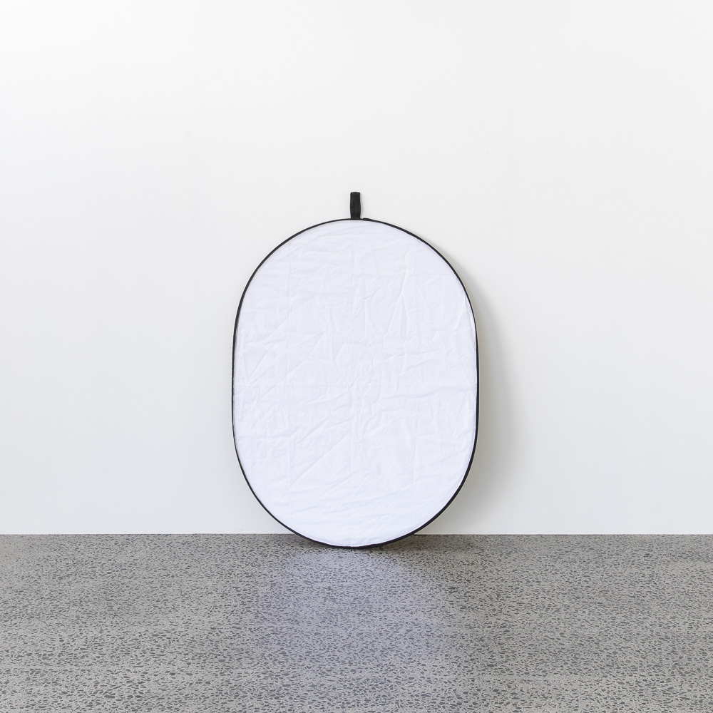 Pop out reflector 100x150 - $10.00 + GST | Includes white, black, silver, gold and