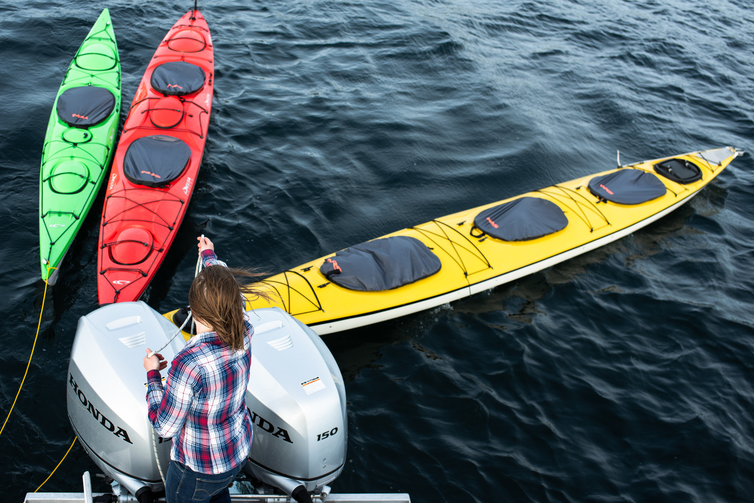KAYAKS, MOTORS, & OCEAN, OH MY!