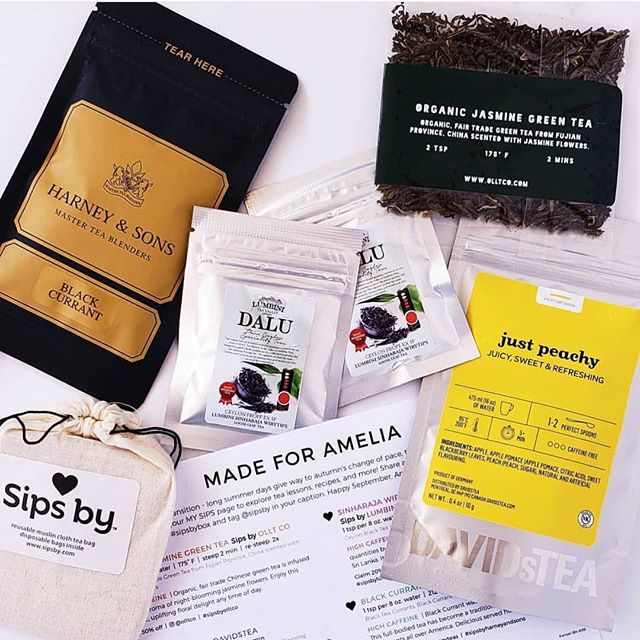 Have you enjoyed our #jasminegreentea this month in your #sipsbybox? Thanks for sharing @tea_for_a_bibliophile!
