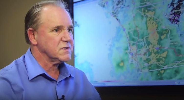 The Department of Public Works has its own meteorologist as part of its flood control staff. Here'sRandAllan's forecast for the coming days.