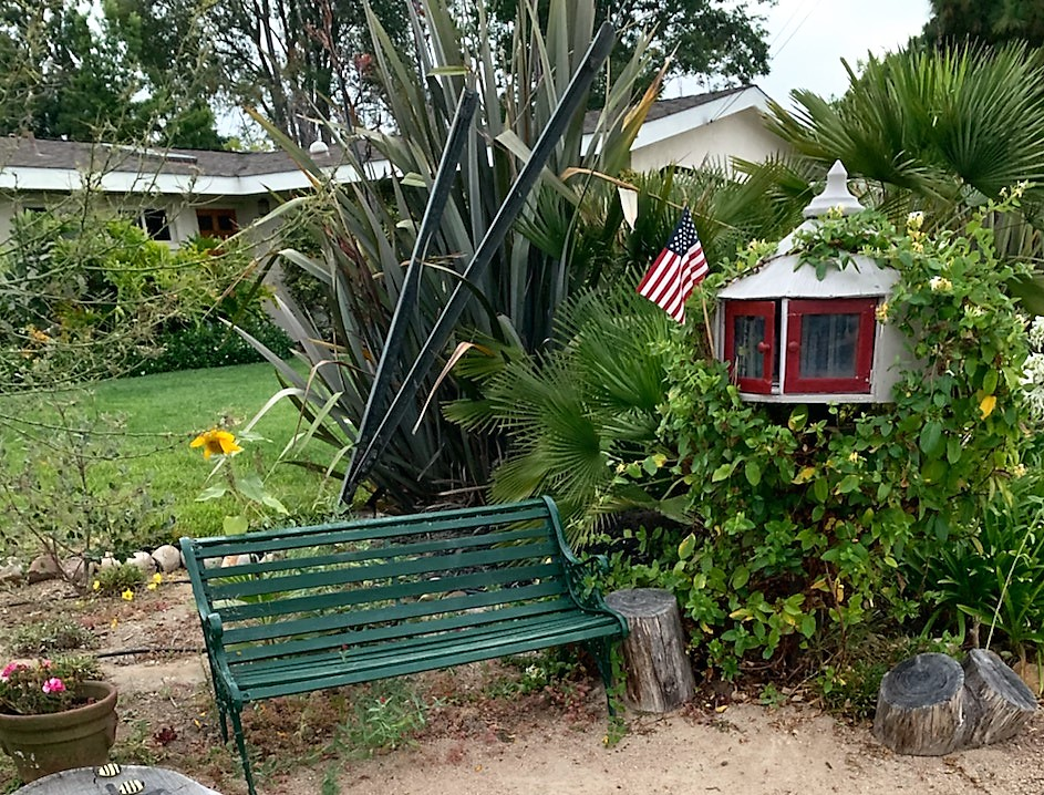 Shelly Tregembo's Little Free Library in Clairemont