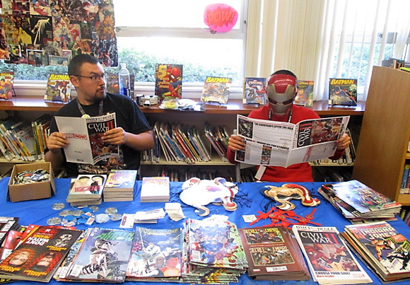 Lakeside Library Hosts Mini Comic-Con