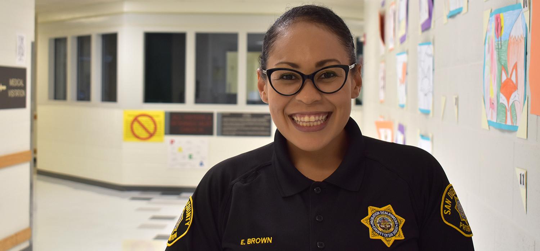 Correctional Deputy Probation Officer Elizabeth Brown