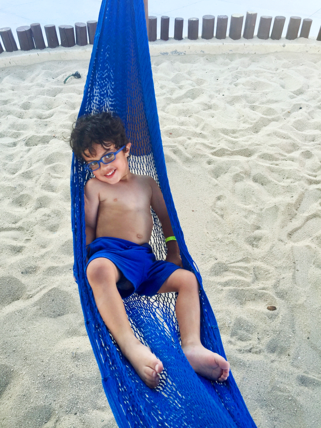 Three year-old Joshua in Cabo San Lucas, Mexico
