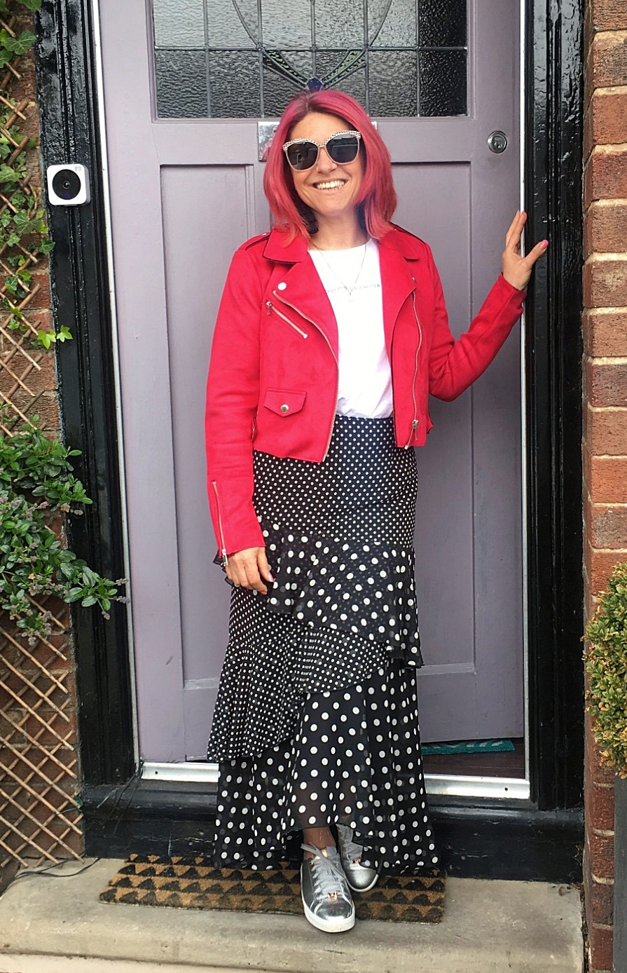 Here's me stepping out on my 50th birthday - officially Mid-Century!