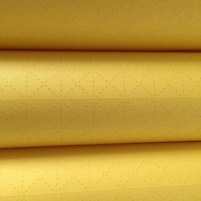 #yellow #yellowfold #fold #pattern# #surfacepattern #protopaper #a2size #paperfolding #squarepattern #trianglepattern
