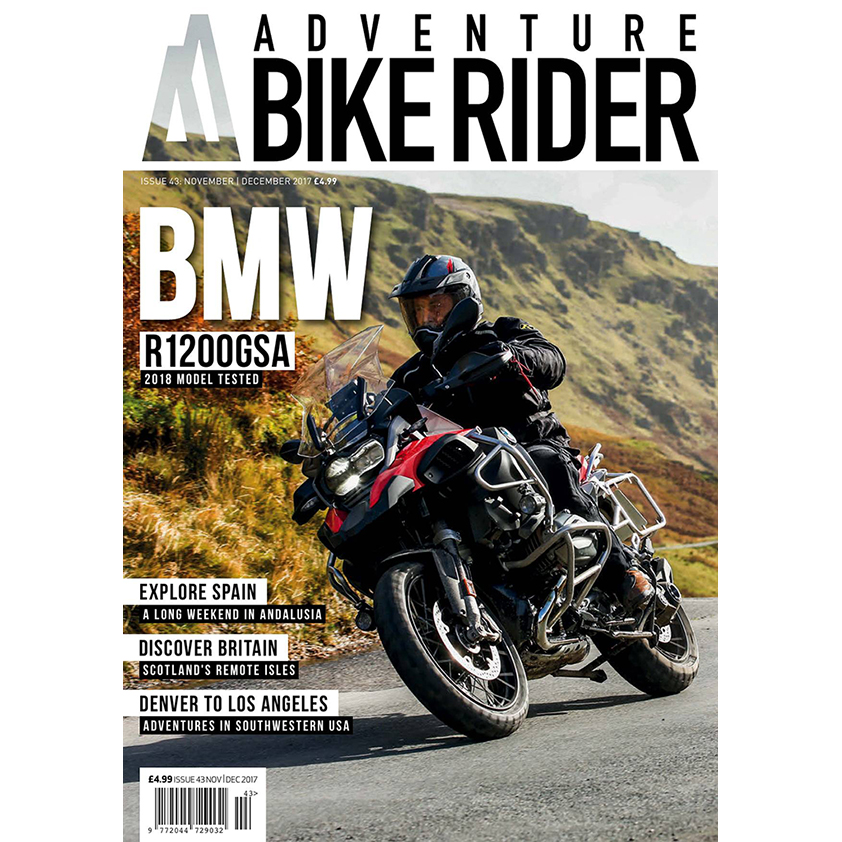 ABR Magazine - UK to Kyrgyzstan - A feature length article for Adventure Bike Rider magazine covering the first half of my motorbike trip from London to China. 3000 words and 14 photos provided.Published November 2017.