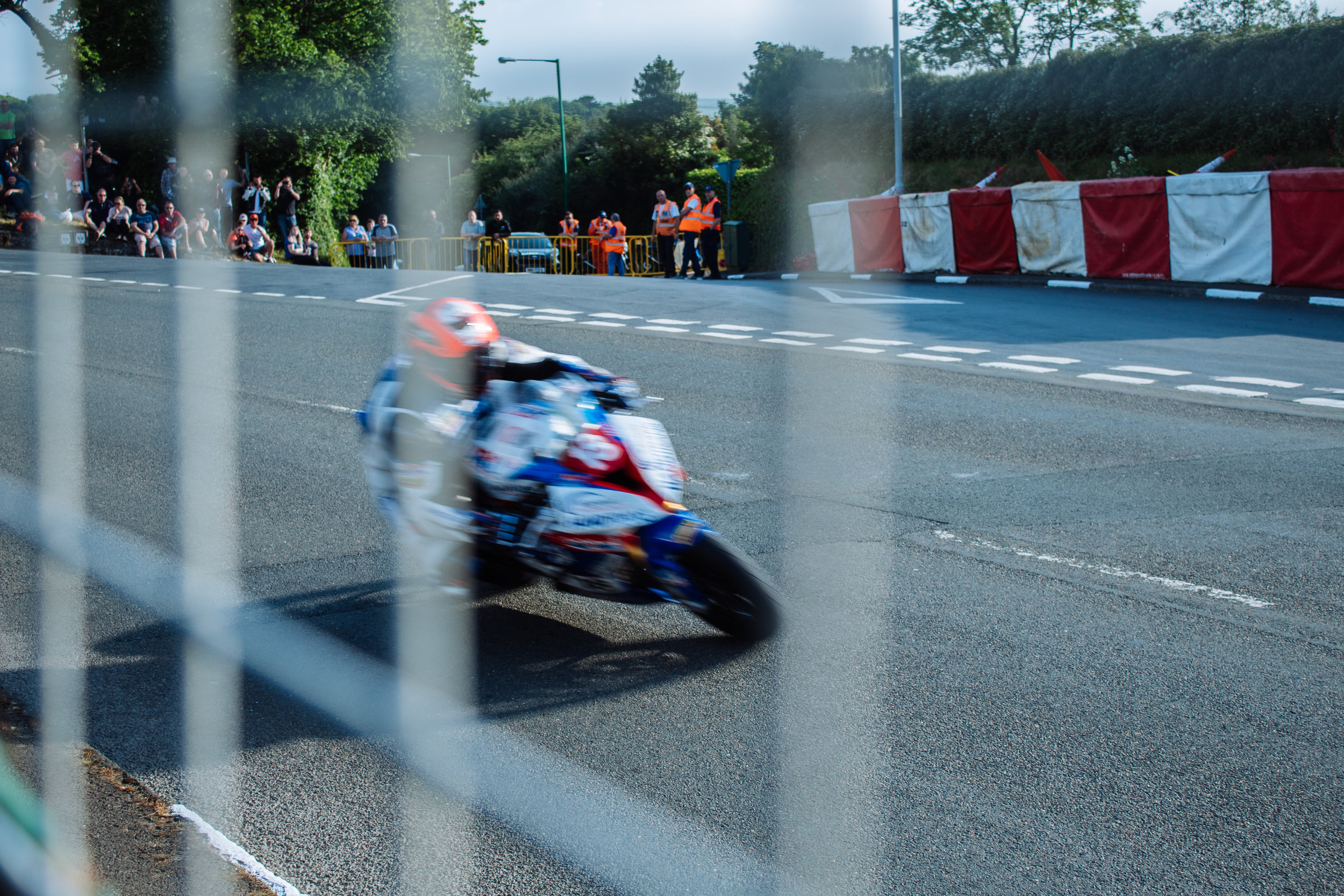 Our first evening watching the TT qualifying, we were absolutely blown away by the speeds that these riders would travel at.