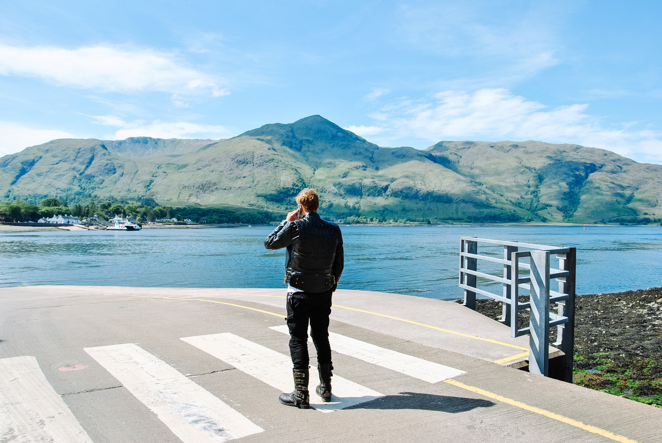 Waiting for the Corran Ferry