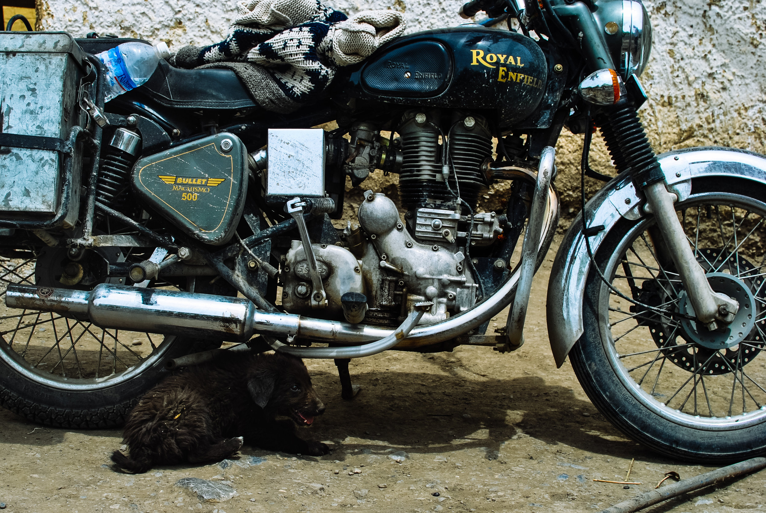Jeff's 500cc Royal Enfield Bullet