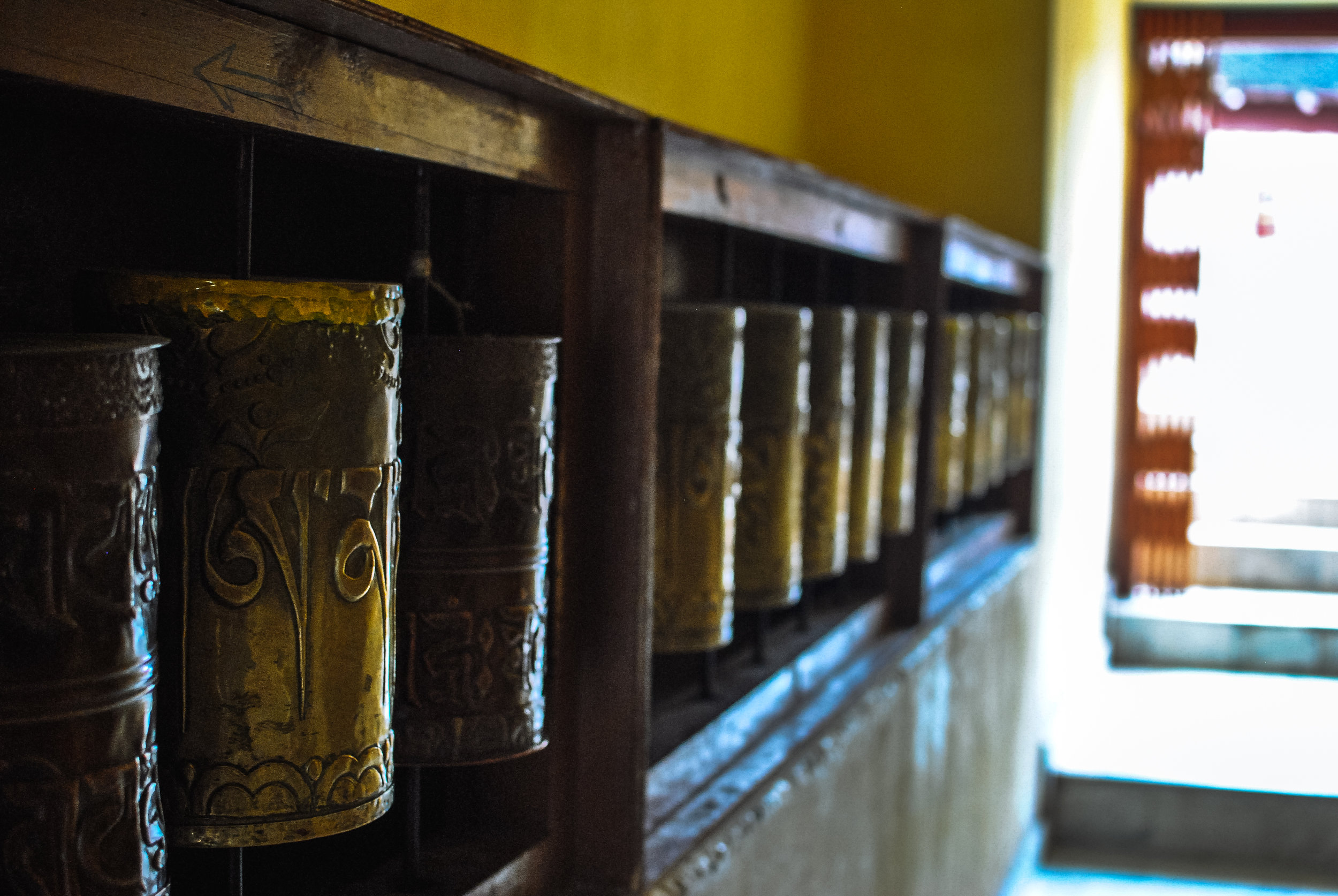 Prayer bells, Key Monastery