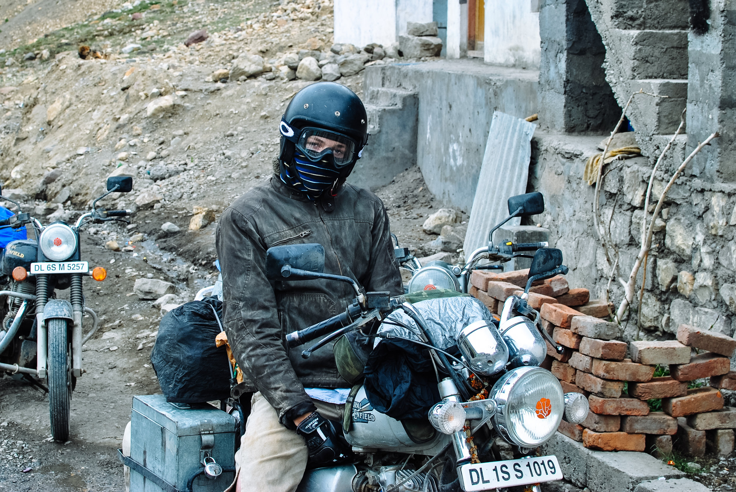 Me in my full motorbiking gear