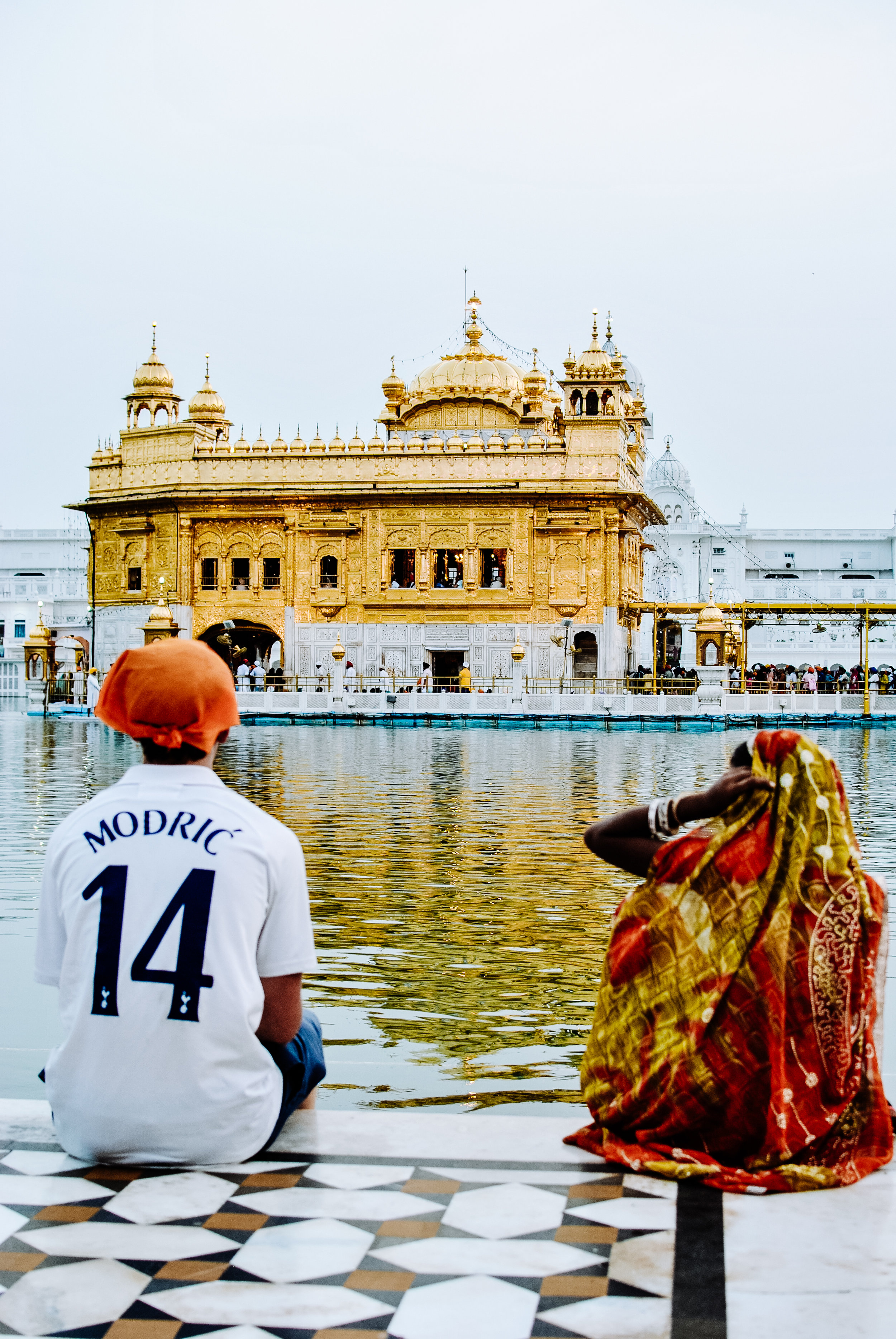 Culture clash, Golden Temple, Amritsar