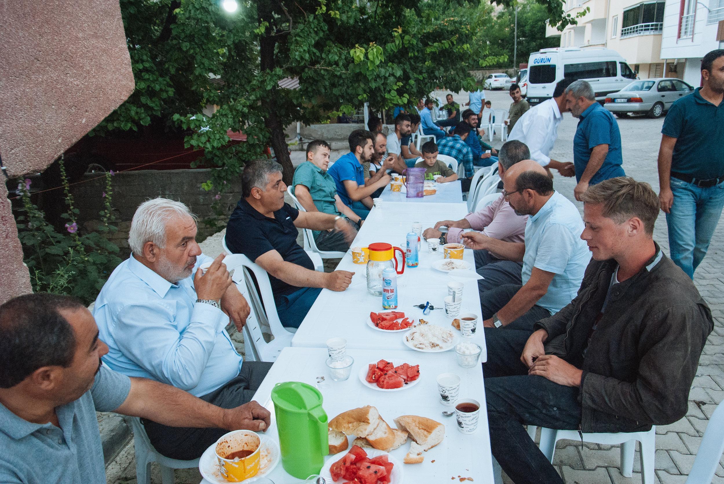 Famous Turkish hospitality