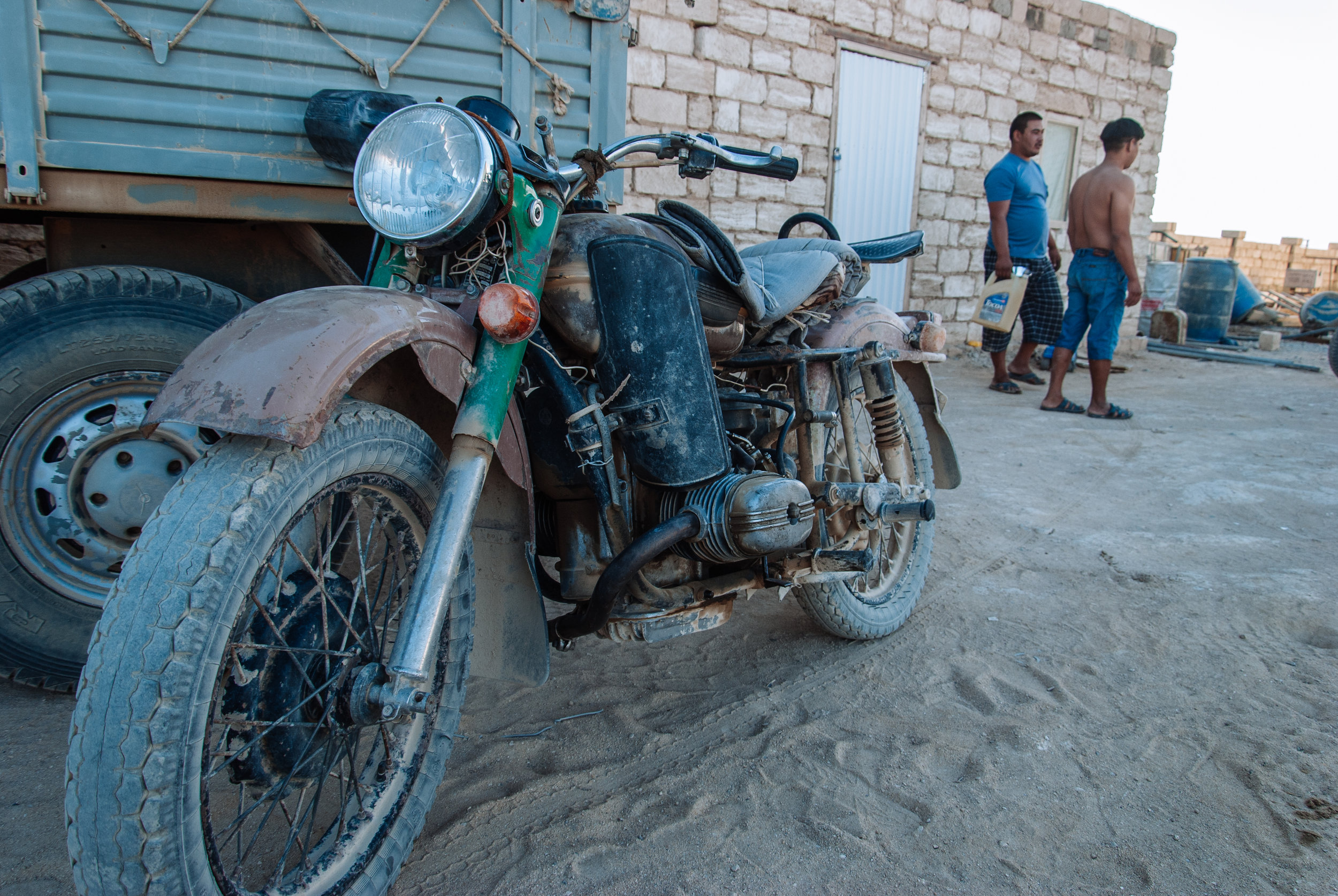 Ural motorbike