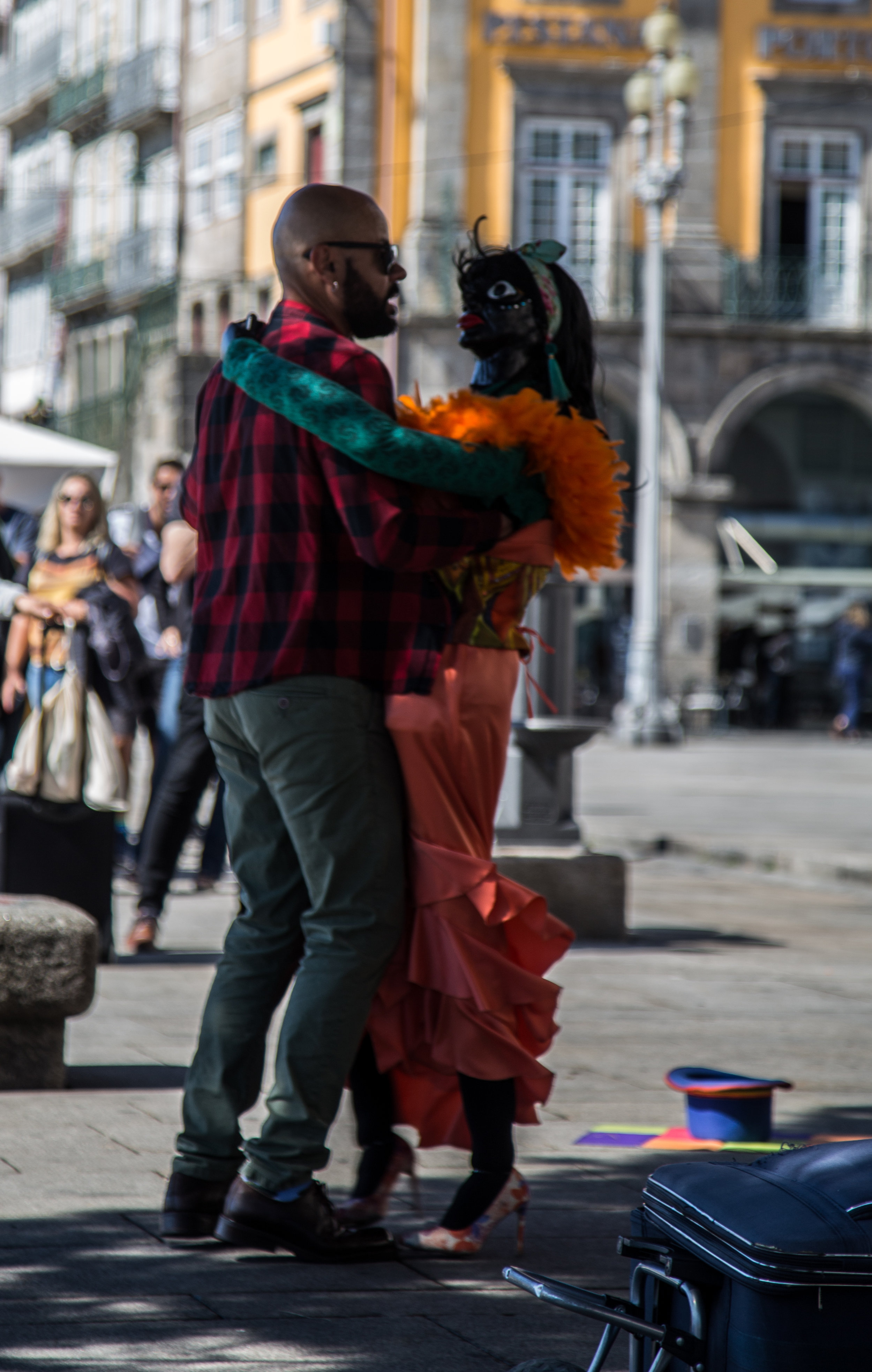 Street performer, Porto