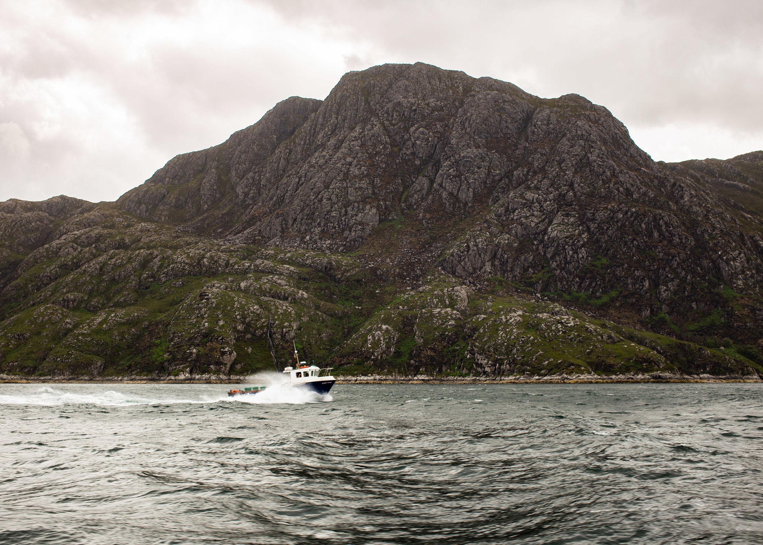 Crossing Loch Nevis from Mallaig to Inverie, Knoydart