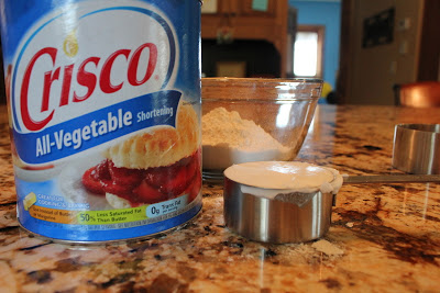 Add 1/2 C Crisco - must be Crisco