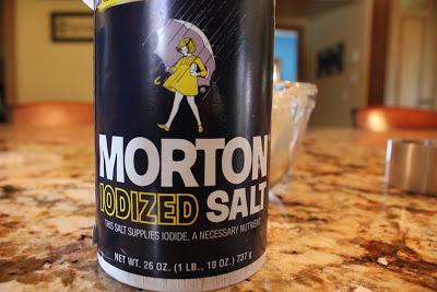 Add 1 t. salt
