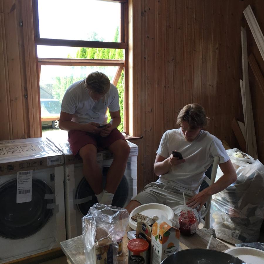 Demolition men må også hvile