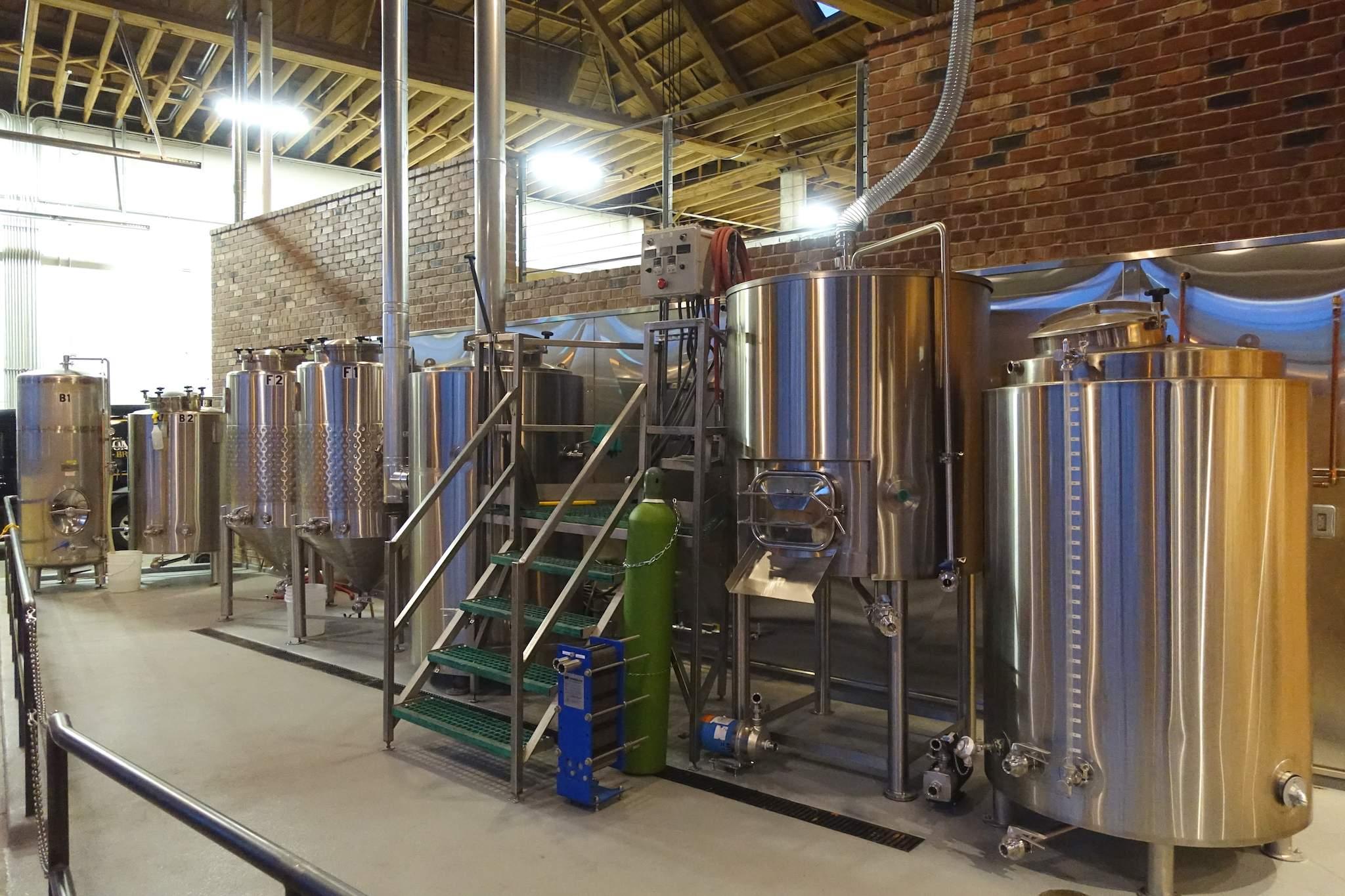 Commons Brewery's pilot kit (their original brew kit)