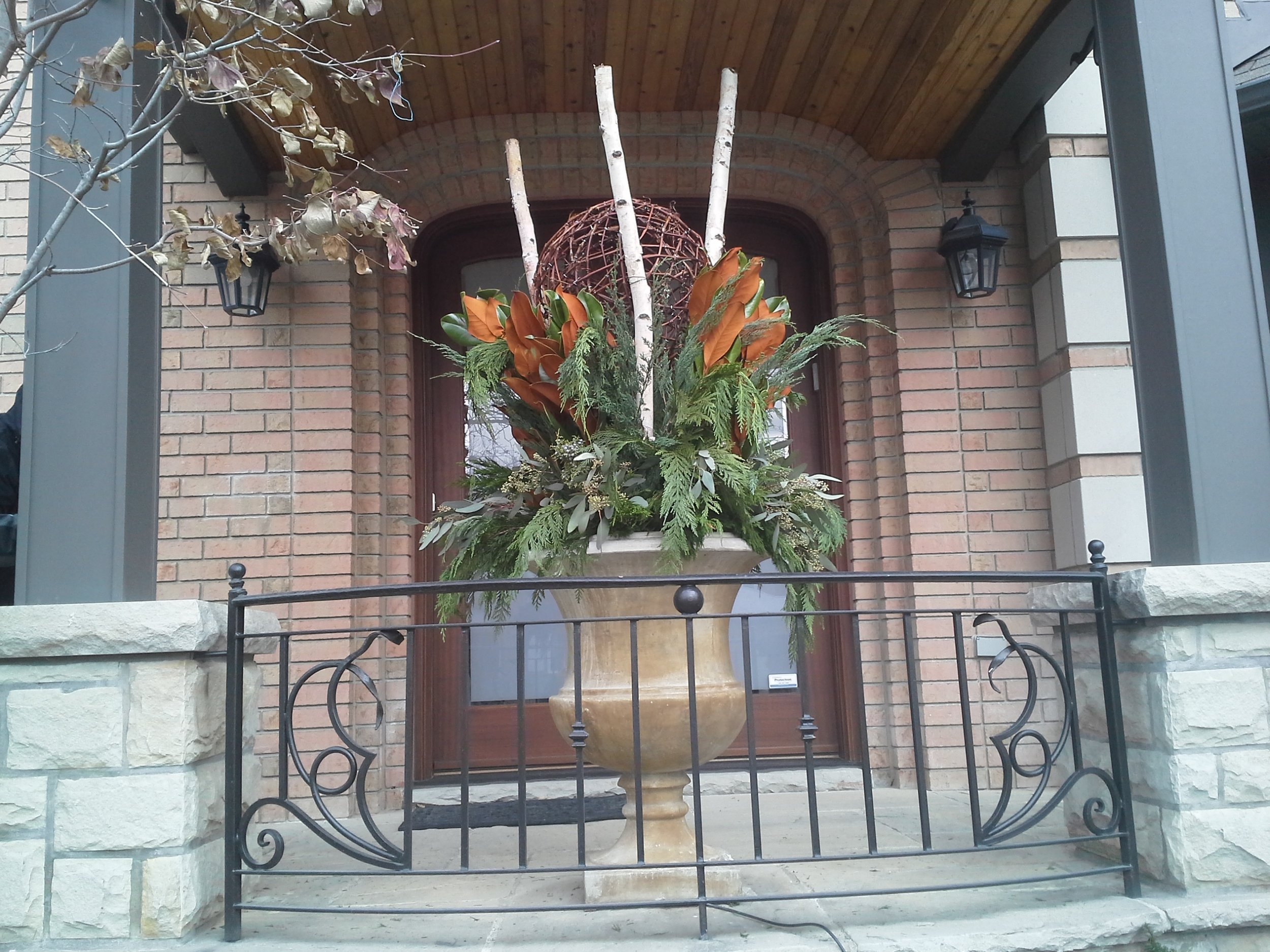 Seasonal Potscaping - Striking containers for any season. See our potscaping gallery.