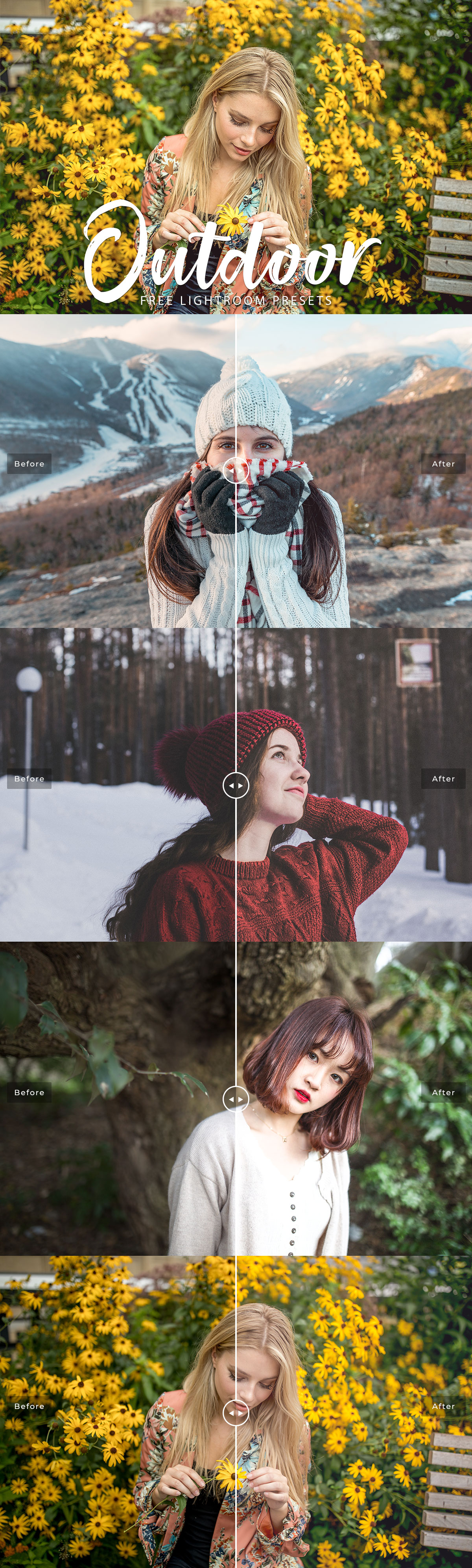 Free #Outdoor #Lightroom #Presetsis a beautiful collection specially handcrafted to enhance your outdoor photography.