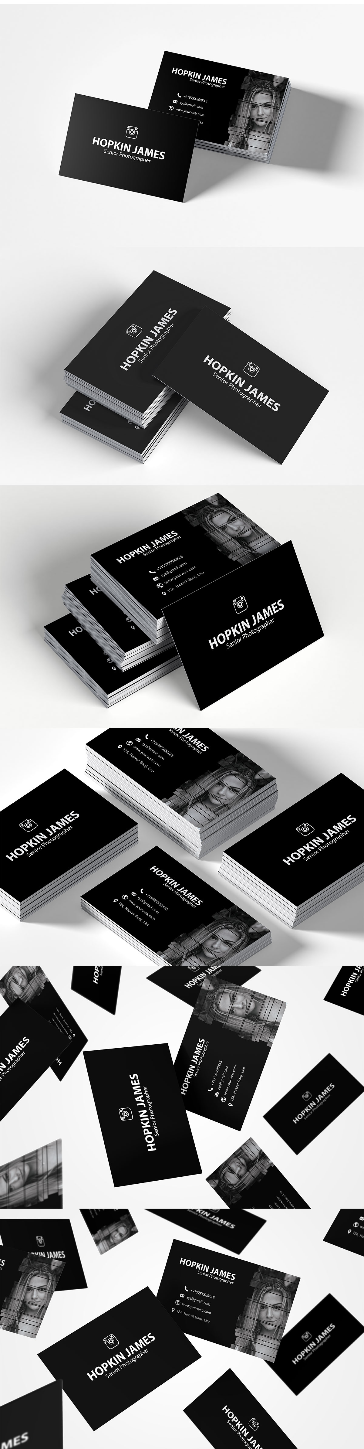 Free #Corporate Photography #Business #Card Template is an eye-catching photography business card template.