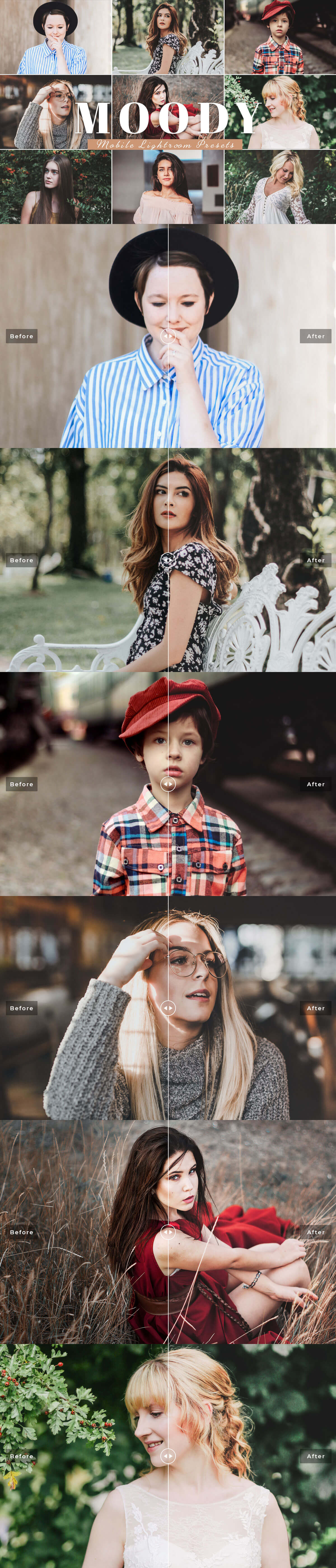 Free #Moody#Mobile Lightroom #Presetwill help you create moody look effects and enhance features, to create beautiful edits in your portraits with just in one click.