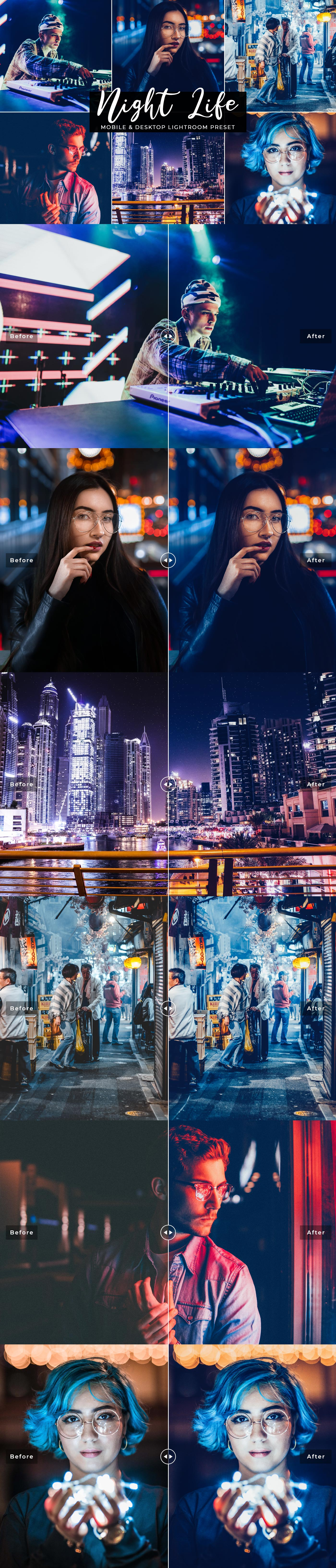 Free #Night #Life Desktop and Mobile Lightroom #Preset was specially handcrafted to significantly improve nightclub party, event photographers, concert and wedding party photographers.