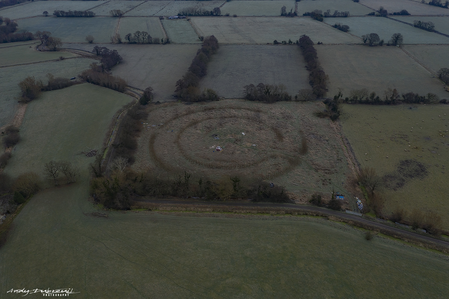 Circle - Great Withy Drove Nr Glastonbury