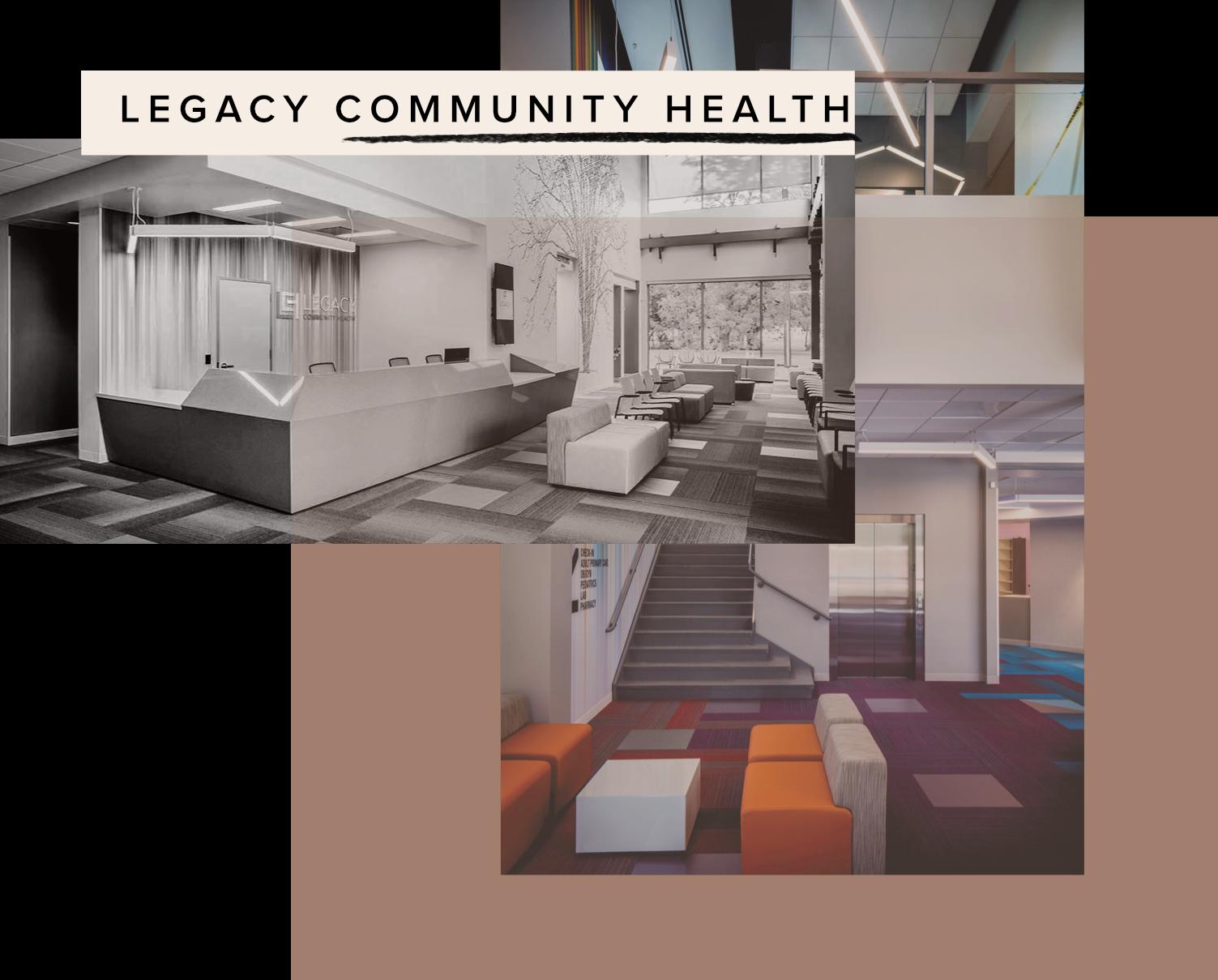 Photos courtesy of Legacy Community Health •