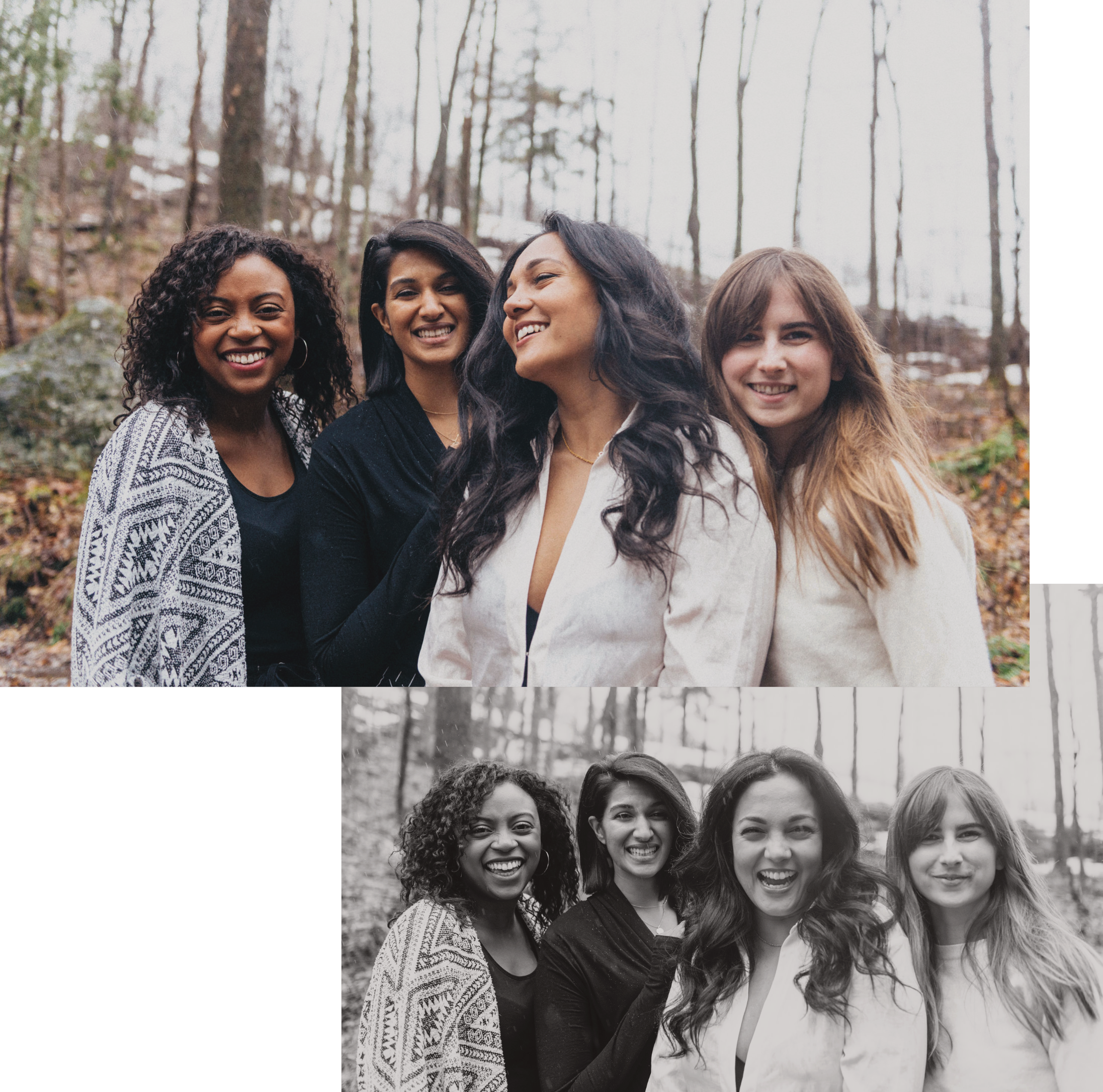 Kaur. Space Team  —  Jasmine, Renira, Komal, Kylie (from left to right) •