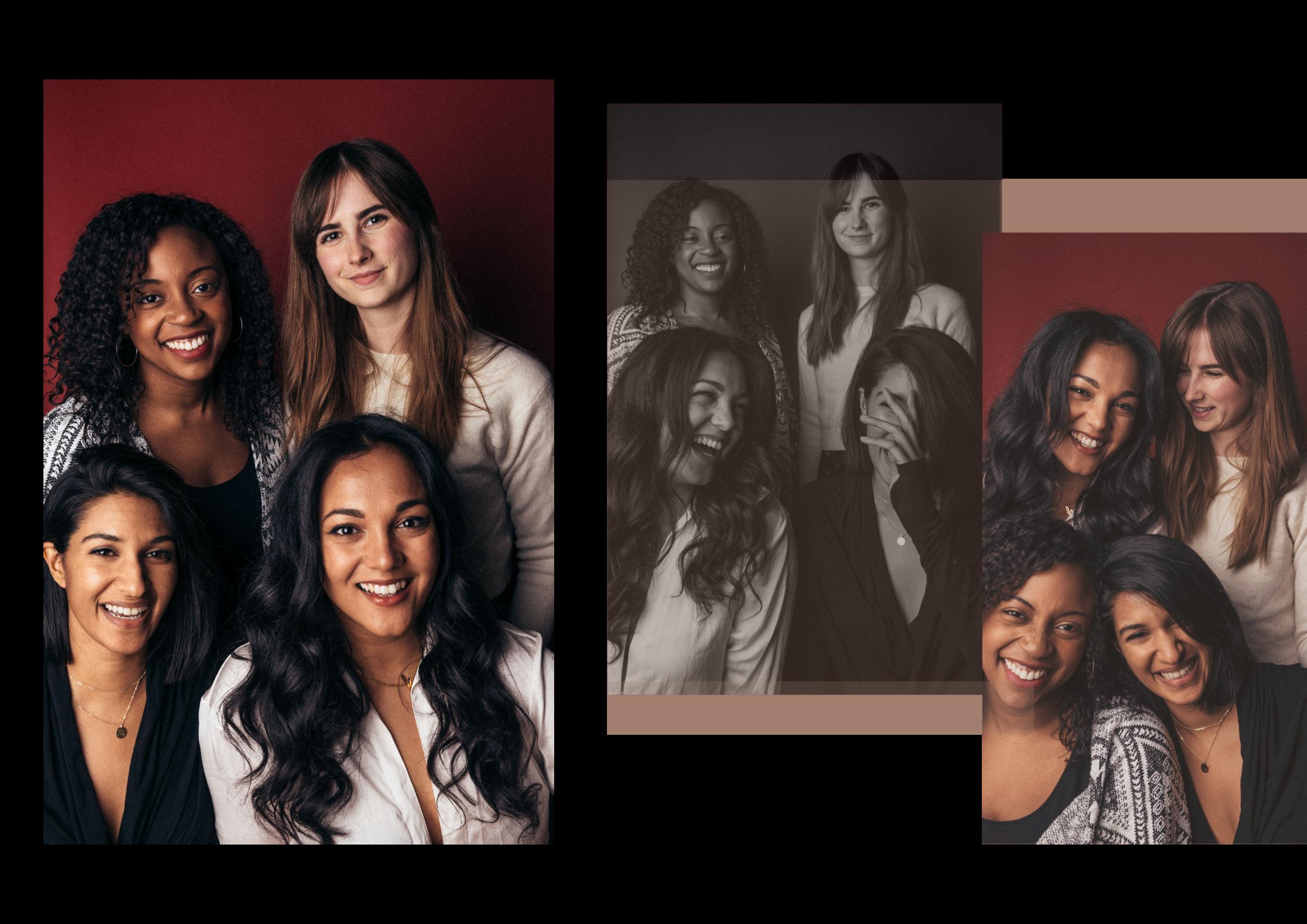 Jasmine Williams, Kylie Adair, Renira Naidu, and Komal Minhas of Kaur Space  —  Photography by Kenya-Jade Pinto •